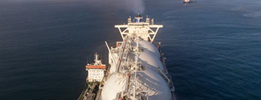 LNG bunkering installation